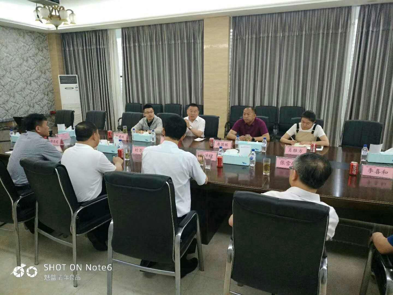 6月27日 七一前夕市委组织部、净月区领导深入净月厂区慰问一线党员